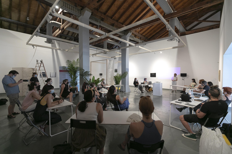 Εργαστήριο Inspire Project 2021, MOMus-Πειραματικό Κέντρο Τεχνών, φωτ. Στέφανος Τσακίρης