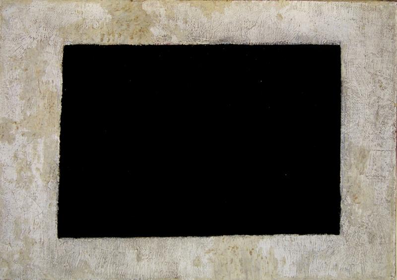 Kαζιμίρ Μαλέβιτς, Μαύρο Ορθογώνιο, 1915, © MOMus-ΜΜΤ
