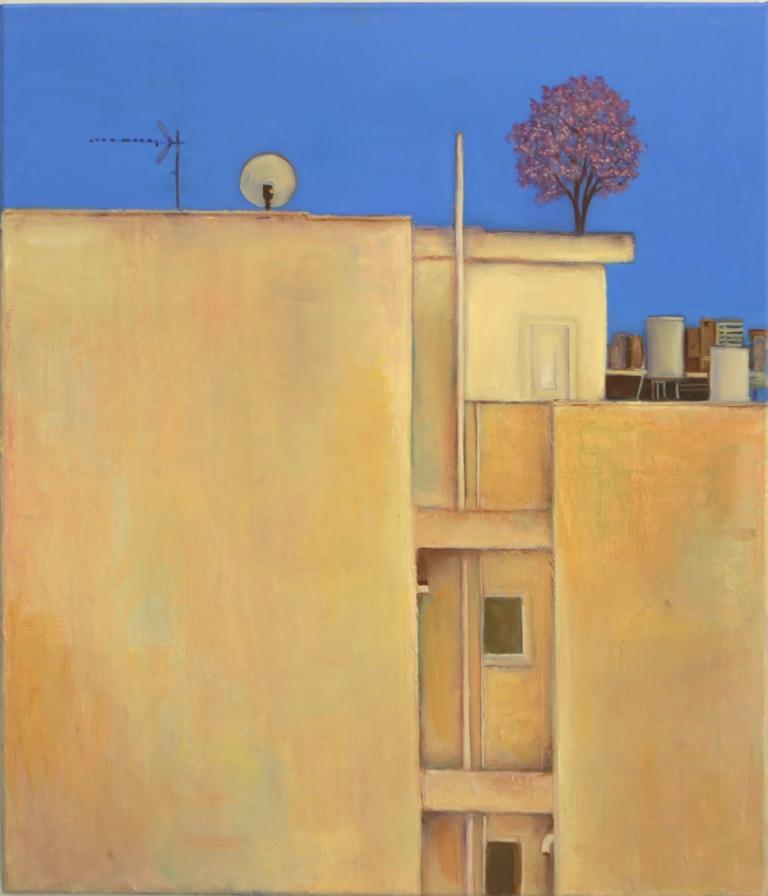 Ελπίδα Ελευθεριάδου, Ελπίδα, 2020, λάδι σε μουσαμά, 60x70 εκ.